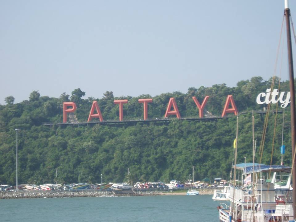 Der Strand von Pattaya