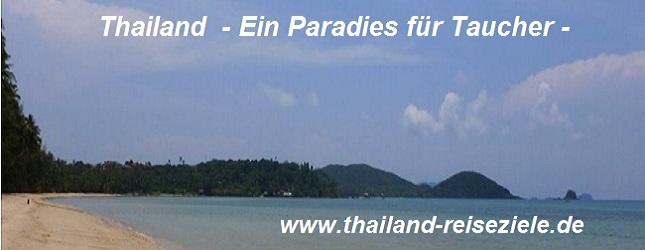 Thailand Reiseziele Tauchen