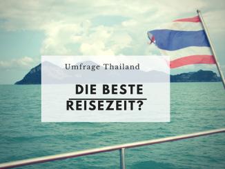 Thailand Umfrage Reisezeit