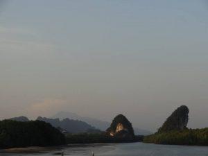 Hundeohren Felesen (Khanab Nam) Wahrzeichen von Krabi